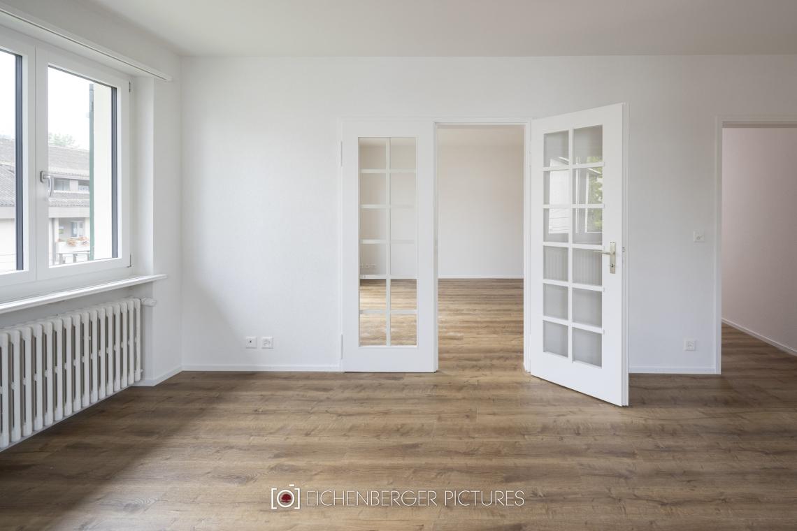 Total sanierte Wohnung in Zürcher Quartier Riesbach